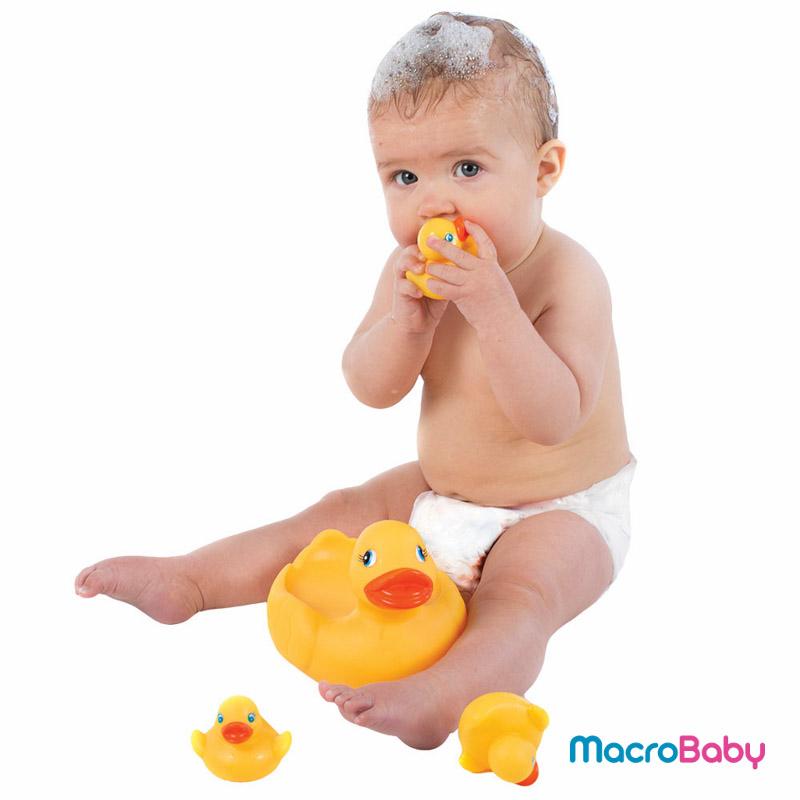 Bath duckie family Playgro - Macrobaby