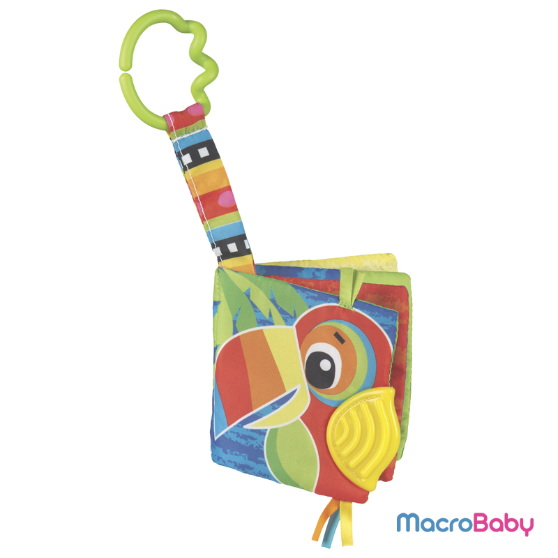 Jazzy Jungle Teether book Playgro