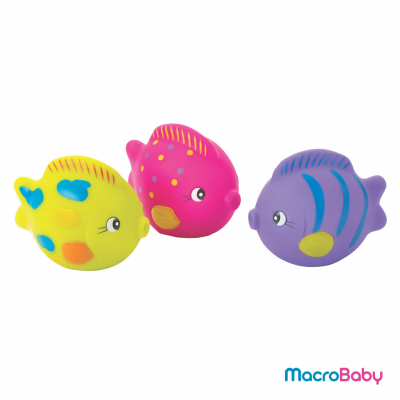 Ocean friends squirtees Playgro - MacroBaby