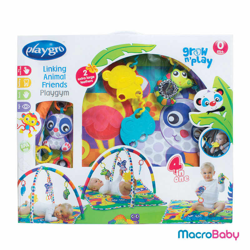 Linking animal friends gym Playgro - MacroBaby