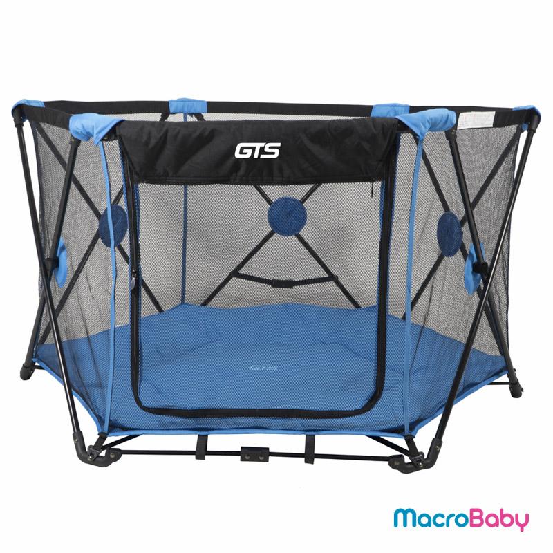Corralito de Bebé para interior y exterior azul GTS - MacroBaby
