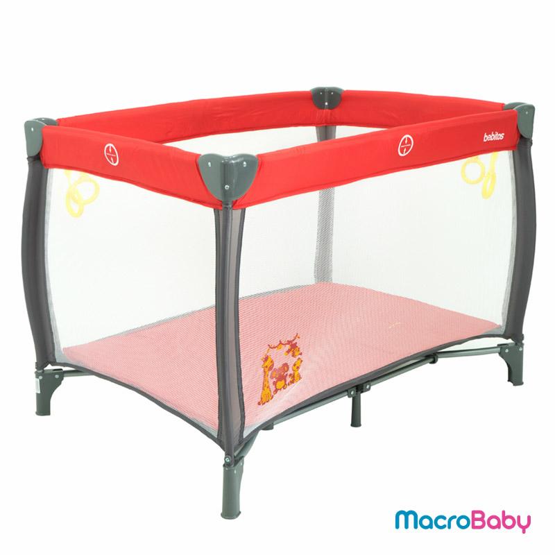 Corralito Sofi rojo Bebitos - Macrobaby