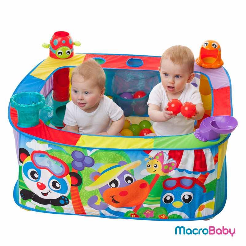 Pop and drop ball activity gym Playgro - MacroBaby