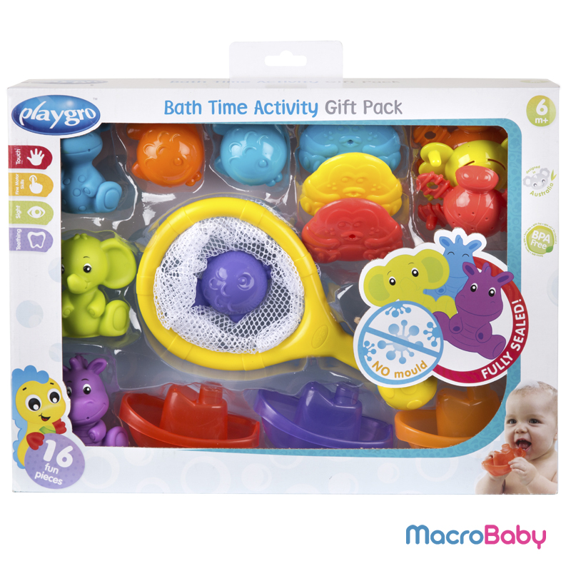 Bath Time Activity Gift Pack Playgro