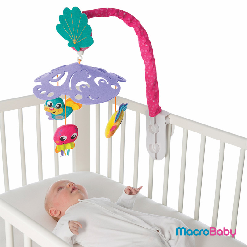 Turtle´s Friends Canopy Mobile Playgro - MacroBaby