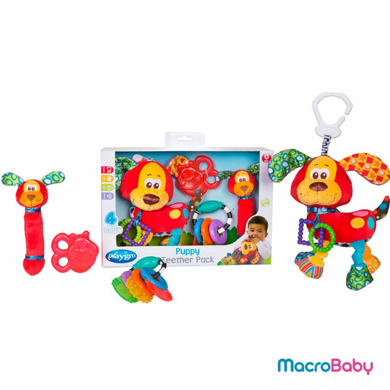 GoPuppy Teether pack Playgro - MacroBaby