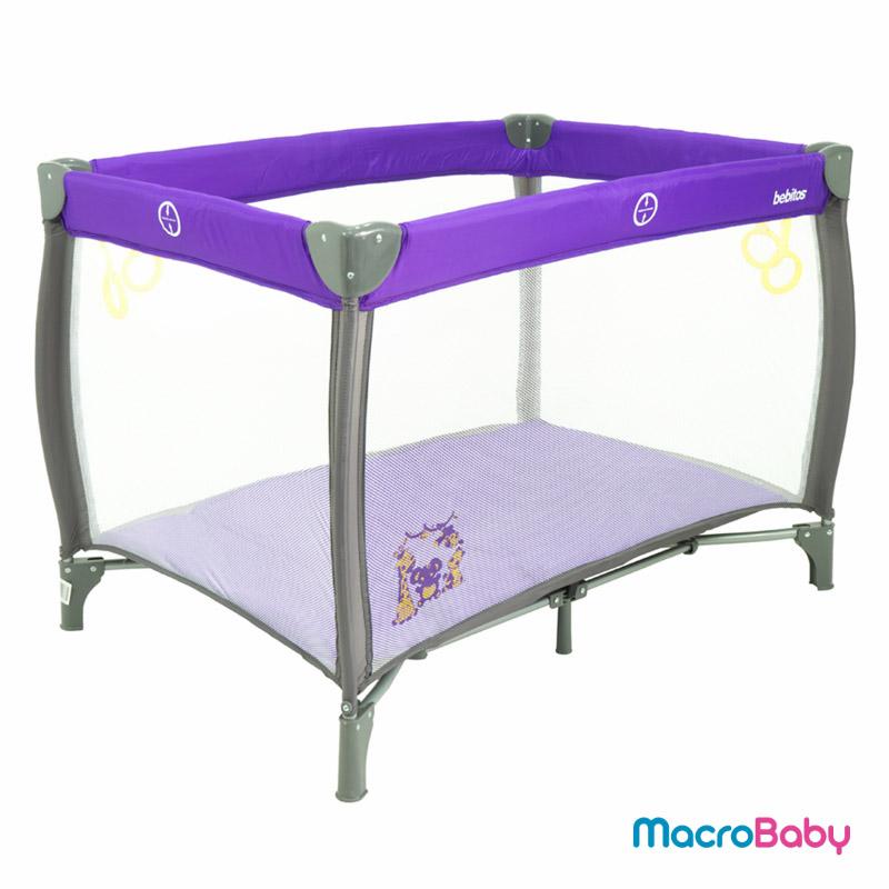 Corralito Sofi violeta Bebitos - Macrobaby