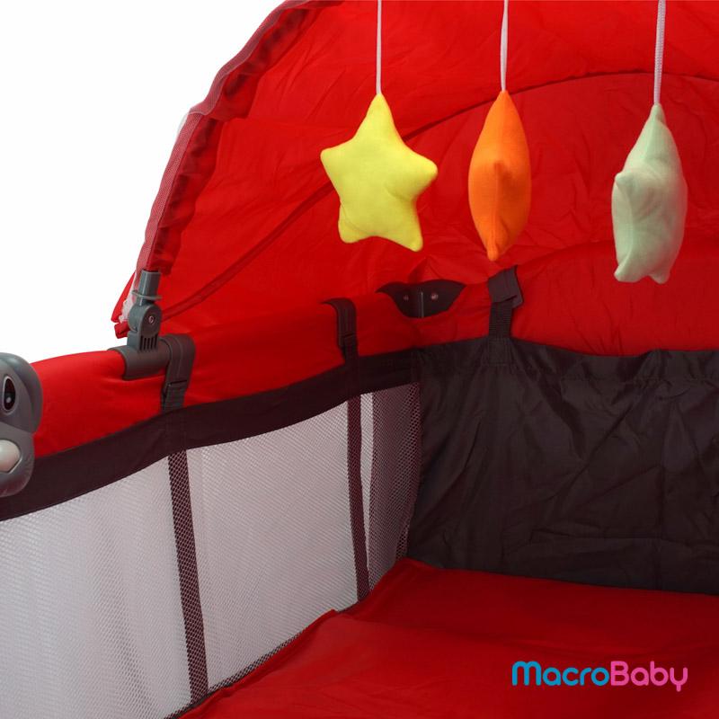 Cuna Venus roja Bebitos - MacroBaby