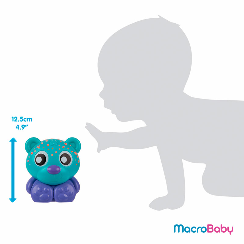 Goodnight Bear Night Light and Projector Blue Playgro - MacroBaby