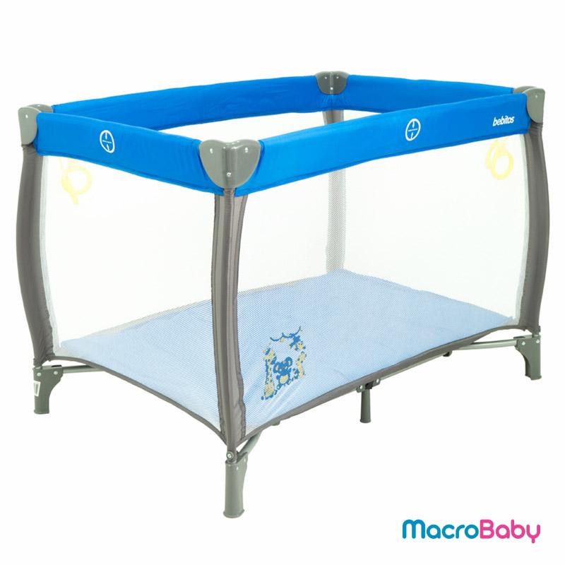 Corralito Sofi azul Bebitos - Macrobaby