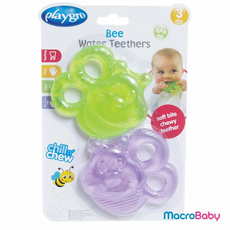 Bee water teethers Playgro - MacroBaby