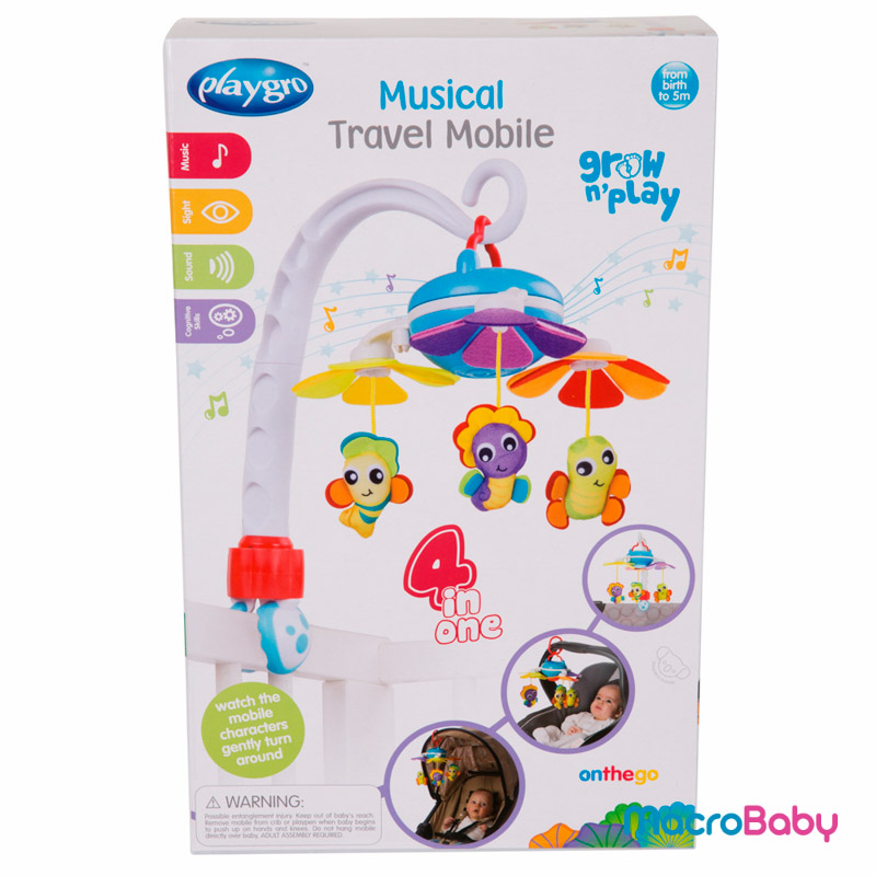 Music Travel Movil Playgro - MacroBaby