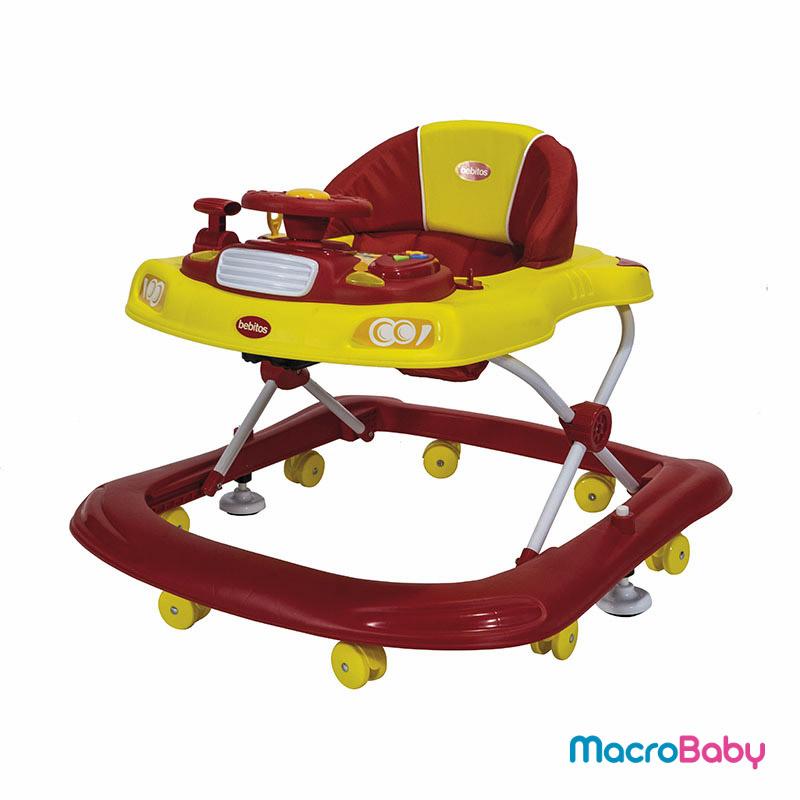 Andador para bebés amarillo Bebitos - MacroBaby