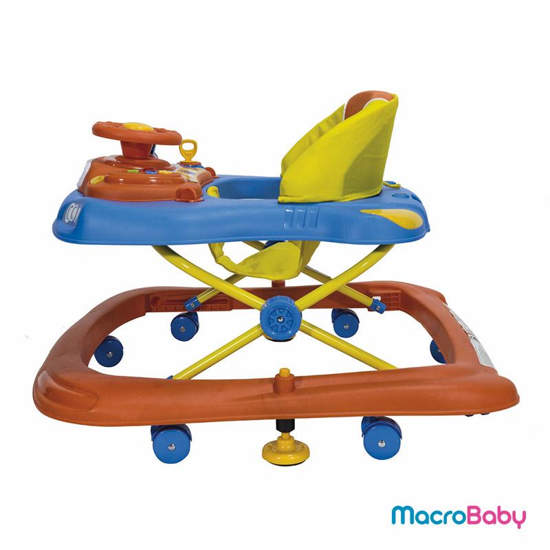 Andador para bebés azul Bebitos - MacroBaby