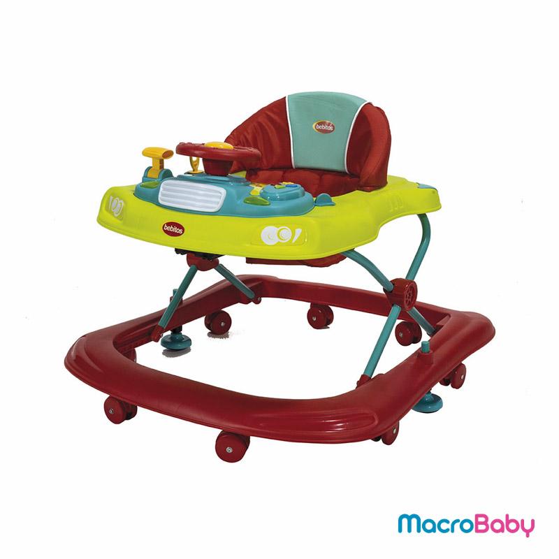 Andador para bebés amarillo BebitosAndador para bebés verde Bebitos - MacroBaby