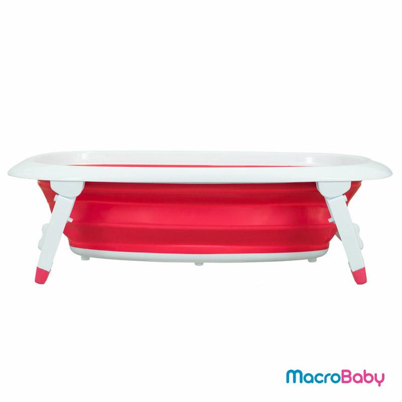 Bañera rosa Bebitos - MacroBaby