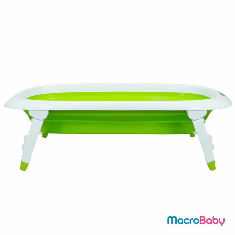 Bañera plegable verde Bebitos - MacroBaby