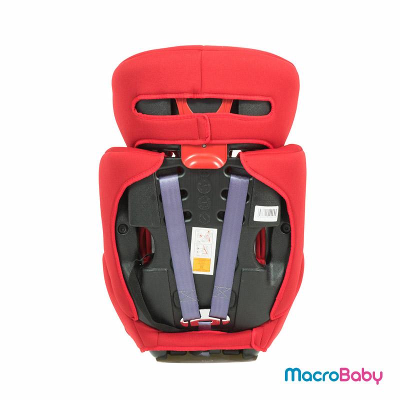 Butaca de seguridad Monza roja Bebitos - MacroBaby