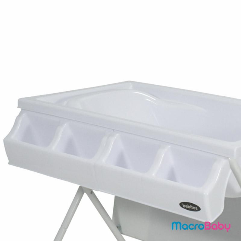 Catre de baño globos beige Bebitos - MacroBaby
