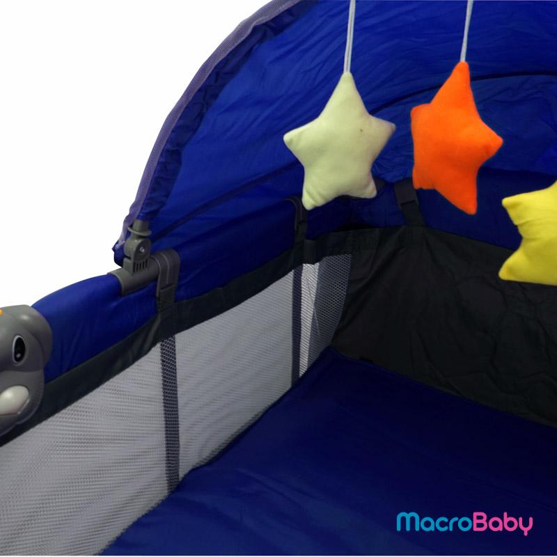 Cuna Venus azul Bebitos - MacroBaby