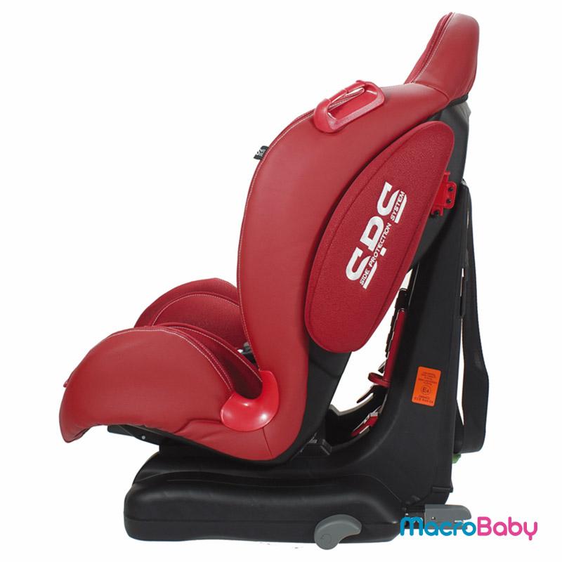 Butaca de seguridad con sistema Isofix Spider De 9 a 25 kg. roja GTS - MacroBaby