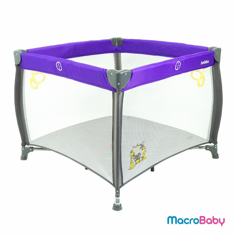 Corralito Rezi violeta Bebitos - Macrobaby