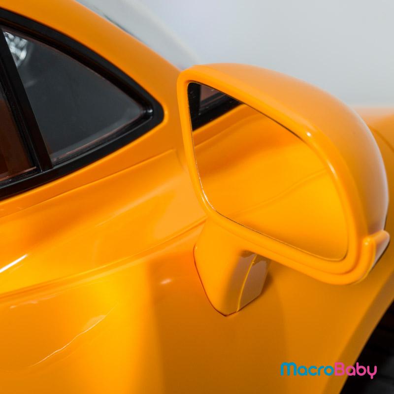 Auto a batería Mc Laren MP1 naranja Bebitos - MacroBaby