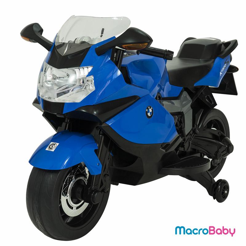 Moto a batería BMW K1300 azul Bebitos - MacroBaby