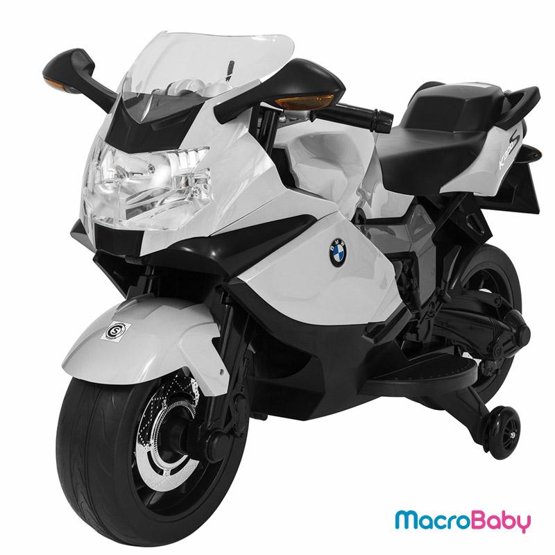 Moto a batería BMW K1300 blanca Bebitos - MacroBaby