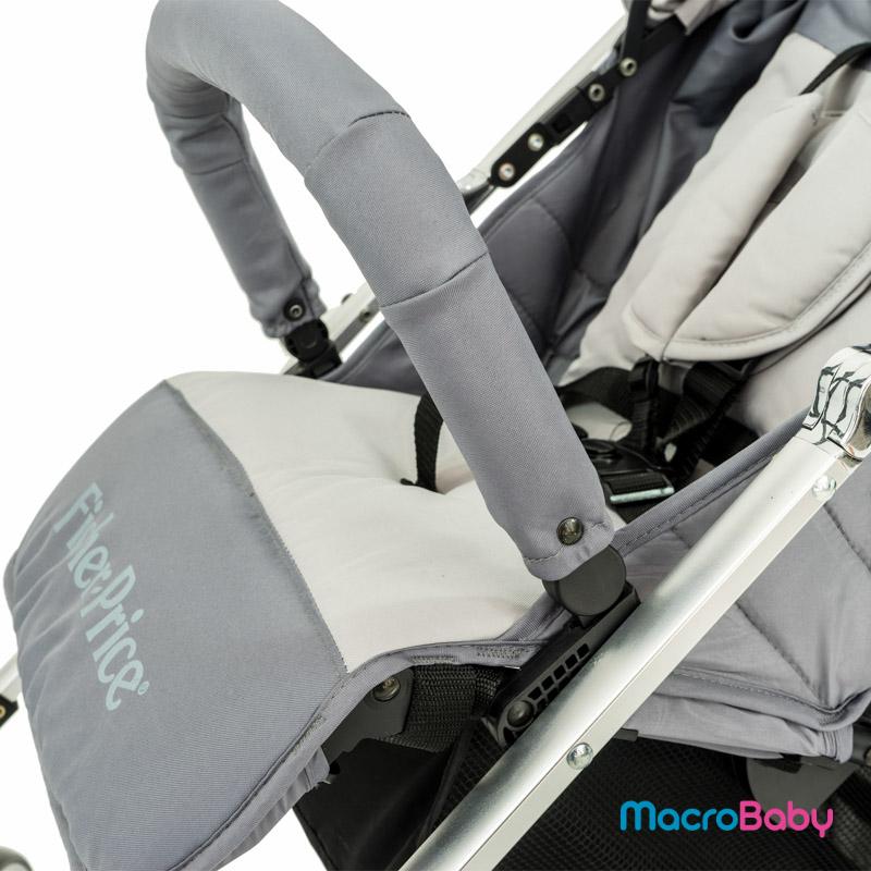 Cochecito paragüitas aluminio A-30 Fisher Price - MacroBaby