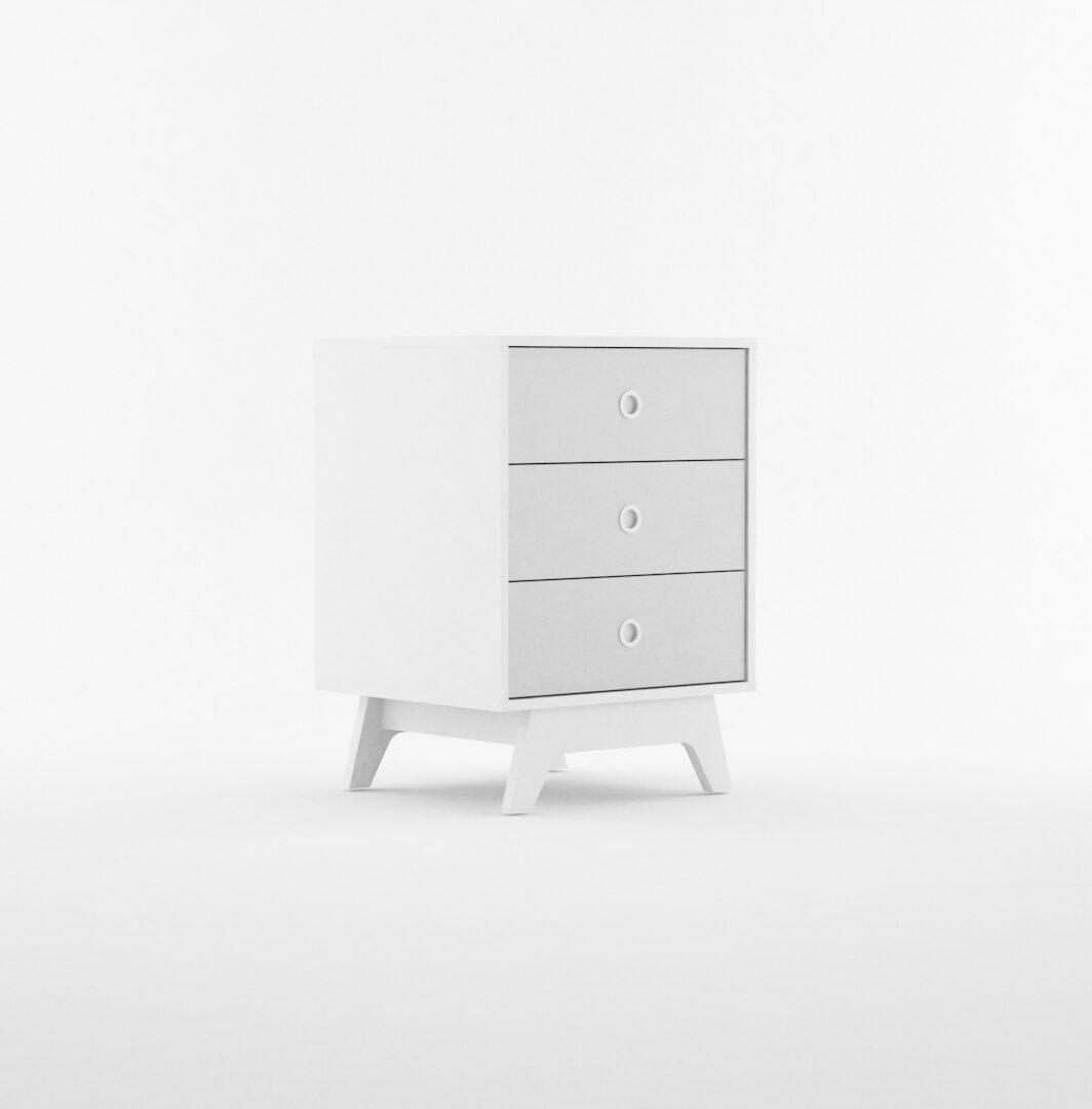 Mueble bajo 3 cajones serie Linnea La Valenziana