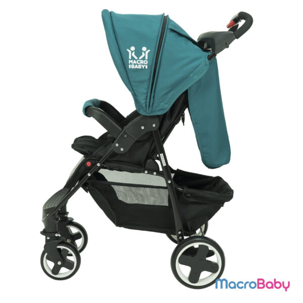 Cochecito de Bebé con Huevito Evo azul petróleo