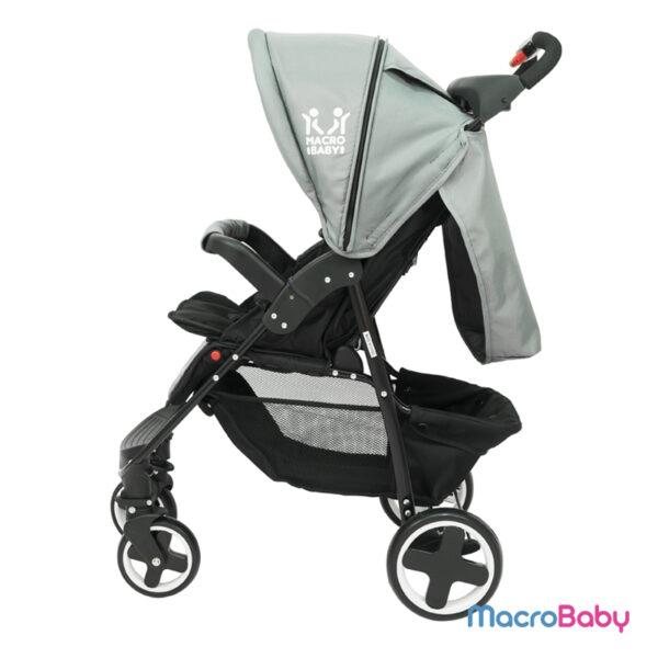 Cochecito de Bebé con Huevito Evo gris
