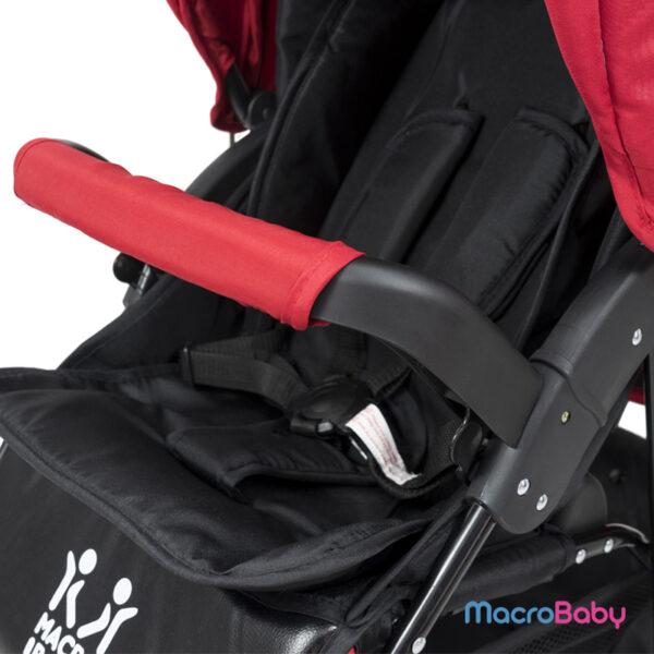Cochecito de Bebé con Huevito Evo rojo