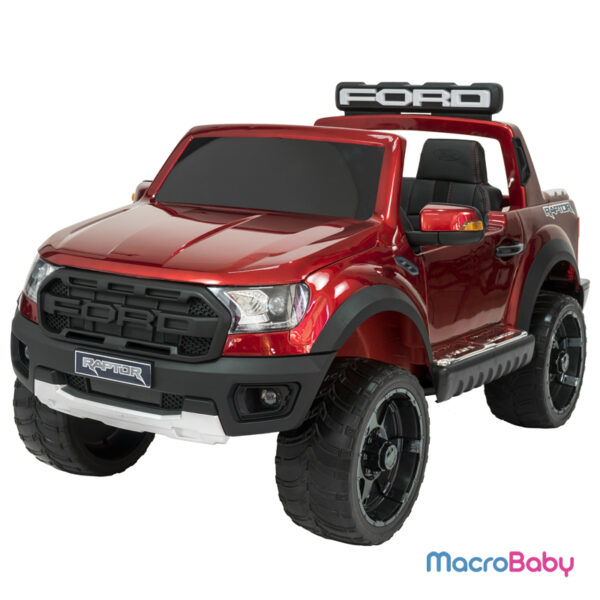 Auto a batería Camioneta Ford Raptor. Pantalla táctil
