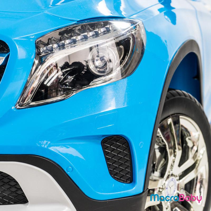 Auto a batería camioneta Mercedes Benz GLA 300 azul Bebitos - Macrobaby