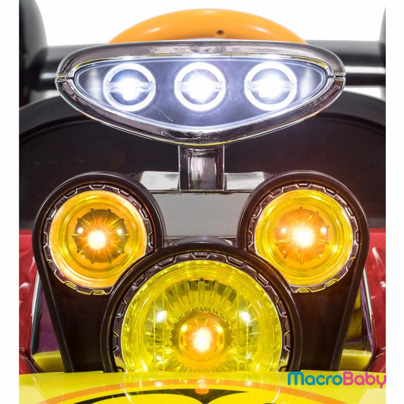 Auto a bateria Racer car Mickey Disney - MacroBaby