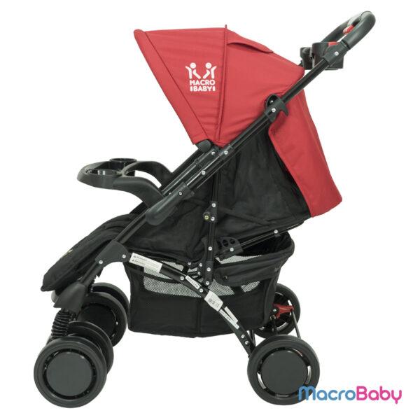 Cochecito de Bebé con Huevito Turist rojo